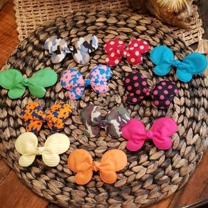 Butterfly now alligator hair clips 11